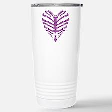 Bone Heart Travel Mug