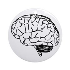 Brain Ornament (Round)
