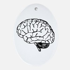 Brain Ornament (Oval)