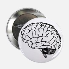 "Brain 2.25"" Button"