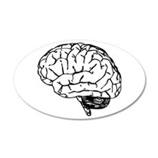 Brain Wall Decal