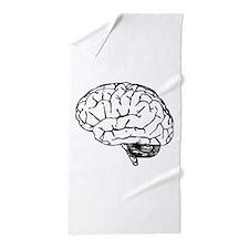 Brain Beach Towel