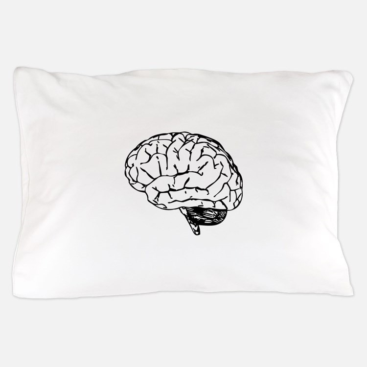 Brain Pillow Case