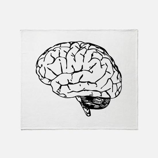 Brain Throw Blanket