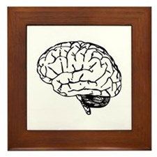 Brain Framed Tile