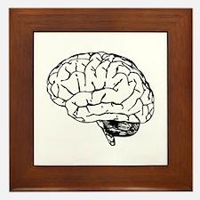 Brain Framed Tile