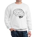 Brain Crewneck Sweatshirts