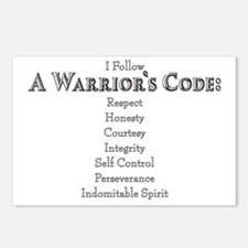 A Warriors Code Postcards (Package of 8)