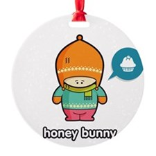 Honey Bunny ORA-PNK Ornament