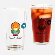 Honey Bunny ORA-PNK Drinking Glass