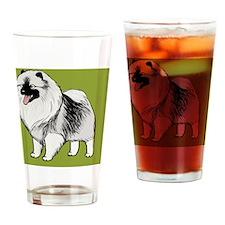 keeshondwallet Drinking Glass