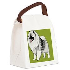 keeshondwallet Canvas Lunch Bag
