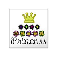 Itty Bitty Princess Sticker