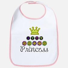 Itty Bitty Princess Bib