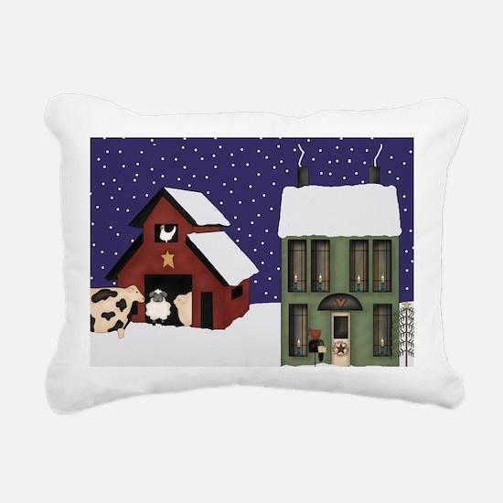 prim Rectangular Canvas Pillow