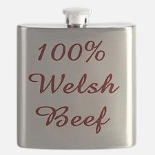 100% Welsh Beef Flask