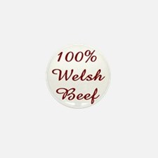 100% Welsh Beef Mini Button
