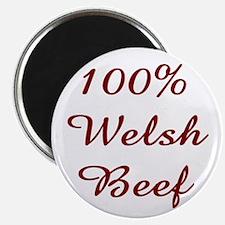 100% Welsh Beef Magnet