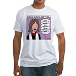 Kierkegaard Sermons Fitted T-Shirt