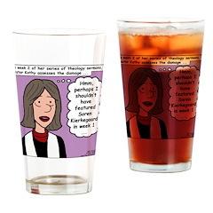 Kierkegaard Sermons Drinking Glass