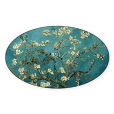 Blossoming Almond Tree, Vincent van Gogh. Decal