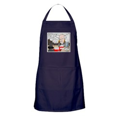 Luther in Oz Apron (dark)