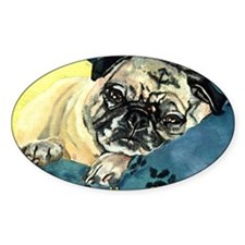 Pugs Are Soft Decal
