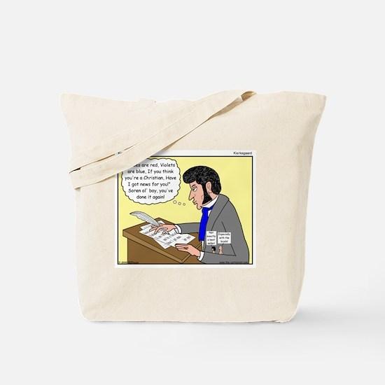 Kierkegaard Poetry Tote Bag