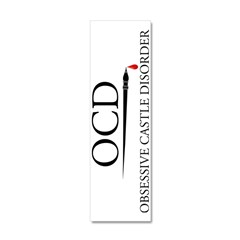 ocd2 verticle Wall Decal