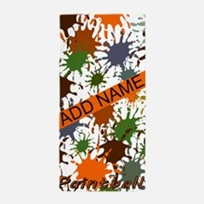 Cute Paintball Beach Towel