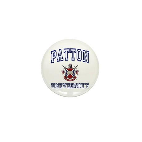 PATTON University Mini Button