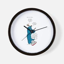 Barths Vacuum Wall Clock