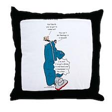 Barths Vacuum Throw Pillow