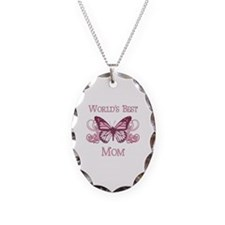 World's Best Mom (Butterfly) Necklace