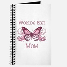 World's Best Mom (Butterfly) Journal