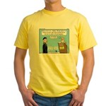 Calvin and Predestination Yellow T-Shirt