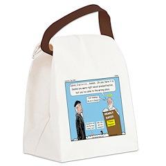 Calvin and Predestination Canvas Lunch Bag