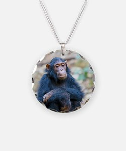 Relaxing Chimp Necklace