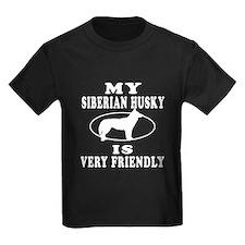 My Siberian Husky Is Very Friendly T