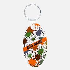 Fun Paintball Splatter Keychains