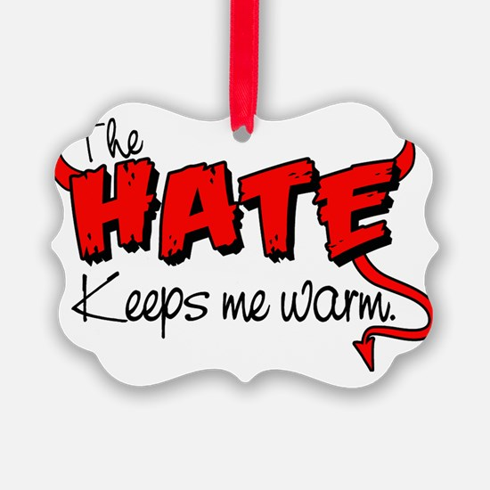 Hate design.eps Ornament