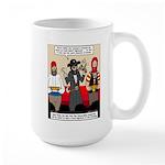 Offering Pirates Large Mug