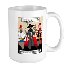 Offering Pirates Large Mug