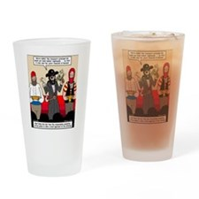 Offering Pirates Drinking Glass