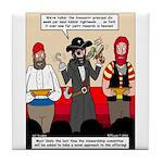 Offering Pirates Tile Coaster