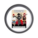 Offering Pirates Wall Clock