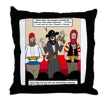 Offering Pirates Throw Pillow