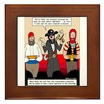 Offering Pirates Framed Tile