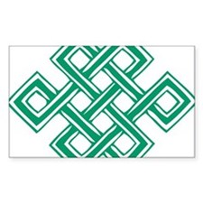 Endless_Knot_Green Decal
