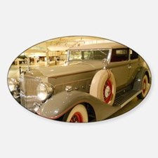 1933 Packard Sedan Sticker (Oval)